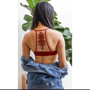 Red Tatoo Bralette